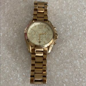 Michael Kors stainless gold plated watch